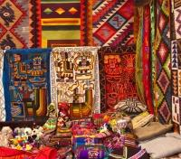 Quintessential Peru Tours 2019 - 2020 -  Textiles at the Pisac Market