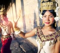 Cambodia Foodie Adventure Tours 2017 - 2018 -  Traditional Cambodian Dancers
