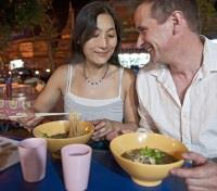 Singapore, Cambodia & Thailand Tours 2020 - 2021 -  Couple Enjoying Thai Food