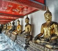 Thailand & Cambodia Highlights Tours 2020 - 2021 -  Buddha Statues At Wat Pho