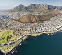 Cape, Winelands, Kruger & Vic Falls Tours 2017 - 2018 -  Cape Town from Above