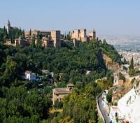 Lisbon & Southern Spain Discovery Honeymoon Tours 2017 - 2018 -  Alhambra view from Sacromonte