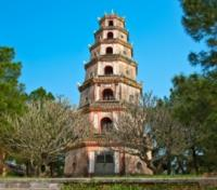 Vietnam Highlights: Pearl of Indochina Tours 2018 - 2019 -  Thien Mu Pagoda