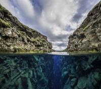 Volcanic Valleys of Iceland Tours 2019 - 2020 -  Silfra Fissure Above & Below Water