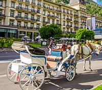 Allure of the Alps: Switzerland & Italy Tours 2019 - 2020 -  Interlaken by Horse-Drawn Carriage