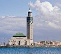 Morocco Exclusive Tours 2017 - 2018 -  King Hassan II Mosque