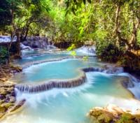 Southeast Asia Grand Journey Tours 2018 - 2019 -  Kuang Si Falls