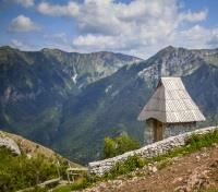 Cultural Bosnia & Croatia Discovery Tours 2017 - 2018 -  Stone Hut on Hiking Trail, Lukomir