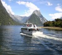 New Zealand Grand Tour Tours 2017 - 2018 -  Milford Sound Cruising
