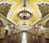 Russia Exclusive Tours 2017 - 2018 -  Metro Station