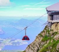 Allure of the Alps: Switzerland & Italy Tours 2017 - 2018 -  Panorama from Mount Pilatus, Switzerland