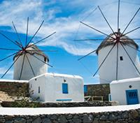 Athens, Mykonos and Santorini Explorer Tours 2019 - 2020 -  Mykonos Windmills