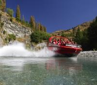 Adventure Seeker of New Zealand Tours 2017 - 2018 -  Shotover Jetboat Ride
