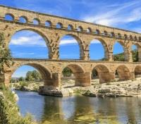 France Grand Tour Tours 2017 - 2018 -  Pont du Gard