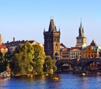 Exquisite Austria, Czech Republic & Poland  Tours 2017 - 2018 -  Vltava River