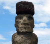 Machu Picchu & Easter Island Discovery Tours 2019 - 2020 -  Moai with Pukao