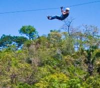 Costa Rica Cloudforest & Coast Tours 2018 - 2019 -  Canopy Zip Lining