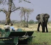 Zimbabwe Explorer Safari Tours 2017 - 2018 -  Pontoon Boat Viewing