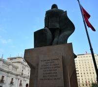 Chile and Argentina Lake Crossing Essential Tours 2019 - 2020 -  Salvador Allende Statue