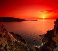 Athens, Mykonos and Santorini Explorer Tours 2017 - 2018 -  Santorini Sunset
