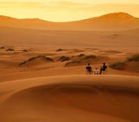 Namibia Exclusive Tours 2017 - 2018 -  Sunset at Serra Kafema