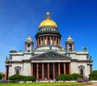 Moscow to St Petersburg Cruise  Tours 2020 - 2021 -  St. Isaac's Cathedral