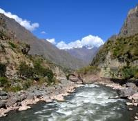Machu Picchu & Pacific Coast Active Adventure Tours 2019 - 2020 -  Vilacanota River
