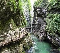 Serenade of Slovenia & Italy Tours 2019 - 2020 -  Vintgar gorge
