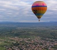 Romance in Mexico Tours 2018 - 2019 -  Hot Air Balloon over San Miguel de Allende