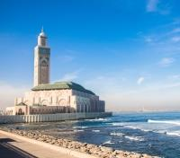Morocco Highlights & High Atlas Mountains  Tours 2019 - 2020 -  King Hassan II Mosque