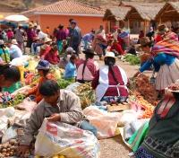 Peru, Bolivia and the Atacama Desert Tours 2019 - 2020 -  Chinchero Market