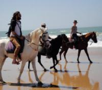 Grand Moroccan Journey Tours 2017 - 2018 -  Horseback on the beach