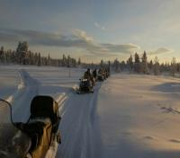 In Search of the Northern Lights Tours 2017 - 2018 -  Snowmobile ride