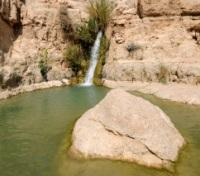Israel Highlights Tours 2018 - 2019 -  Ein Gedi Waterfall