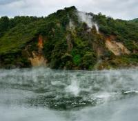 New Zealand Grand Tour Tours 2017 - 2018 -  Waimangu Thermal Valley