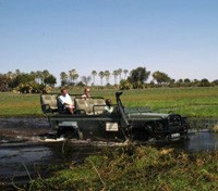 Victoria Falls & Botswana Highlights Tours 2018 - 2019 -  Okavango Game Drive
