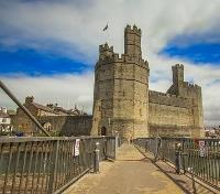 Northern Wales Highlights Tours 2017 - 2018 -  Caernarfon Castle
