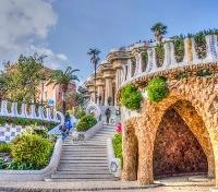 Paris, Provence & Barcelona by River Cruise Tours 2019 - 2020 -  Parc Guell