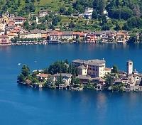 The Flavors and Vistas of Piemonte Tours 2019 - 2020 -  San Giulio on Lake Orta