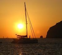 Greek Island Honeymoon Tours 2017 - 2018 -  Sunset Catamaran Cruise