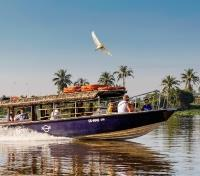 Vietnam, Cambodia & Thailand Signature Tours 2019 - 2020 -  Speed Boat on the Saigon River