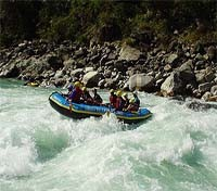 India, Nepal and Bhutan Highlights Tours 2018 - 2019 -  Trisuli River Rafting