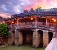 Vietnam & Cambodia Signature Tours 2017 - 2018 -  Japanese Covered Bridge