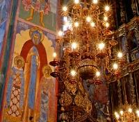 Moscow to St Petersburg Cruise  Tours 2017 - 2018 -  Church Frescoes