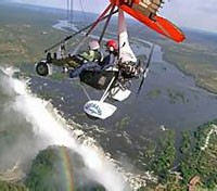 Botswana Exclusive Tours 2019 - 2020 -  Micro flight Vic Falls