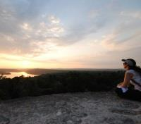 Guatemala Honeymoon Tours 2019 - 2020 -  Sunset at Yaxha