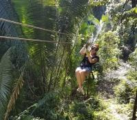 Guatemala Family Getaway Tours 2019 - 2020 -  Zip-Lining near Lake Atitlan