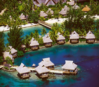 Decadent Polynesian Paradise  Tours 2017 - 2018 -  Intercontinental Resort Moorea