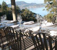 Taupo Tours 2017 - 2018 -  Dining Outdoors
