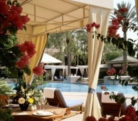 Phoenix Tours 2017 - 2018 -  Pool Cabana at The Arizona Biltmore Resort & Spa